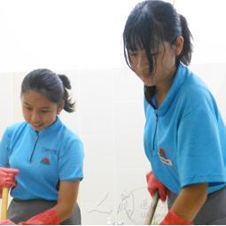 服務體現生命價值 學生樂當新馬寺環保義工
