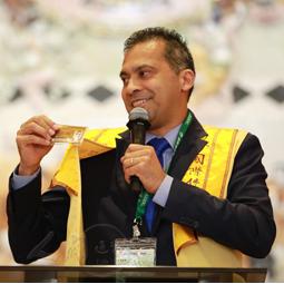 巴西副市長認同佛光會 加入弘法行列